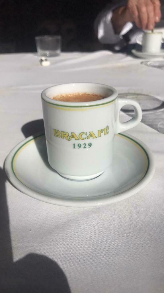 Taza conmemorativa de café Bracafé Apilable