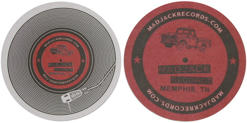 MADJACK Records Coasters 25 Pack