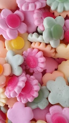 Happy Flowers (Fruit Flavour Gummy Sweets)