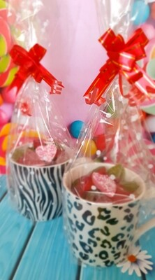 Sweet Filled Cups - Animal Prints