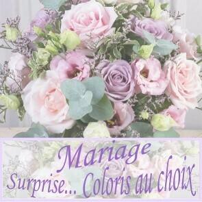 Bouquet du fleuriste coloré