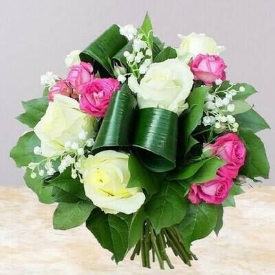 Roses et bonheur