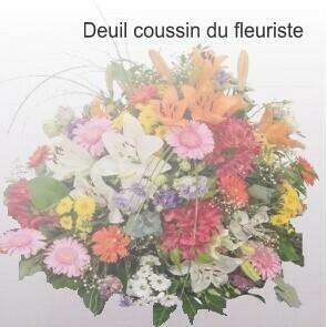 Deuil coussin du fleuriste