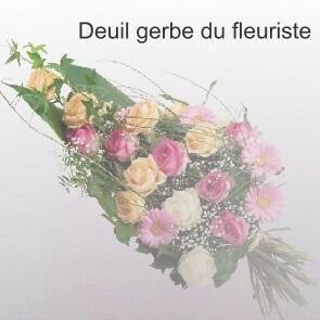 Deuil gerbe du fleuriste