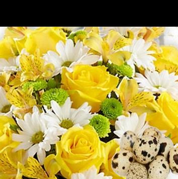 """Bouquet du fleuriste """"Pâques"""""""