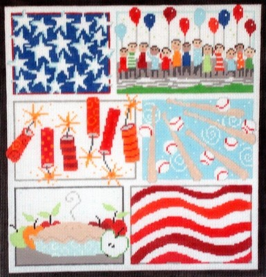 Patriotic Six    (hand painted from Pippin studios)