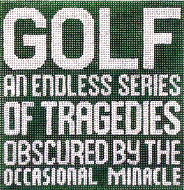 Golf an Endless   handpainted from The Point of it All Designs
