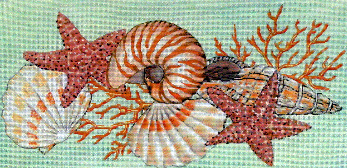 Shellacious    (handpainted from the Meredith Collection