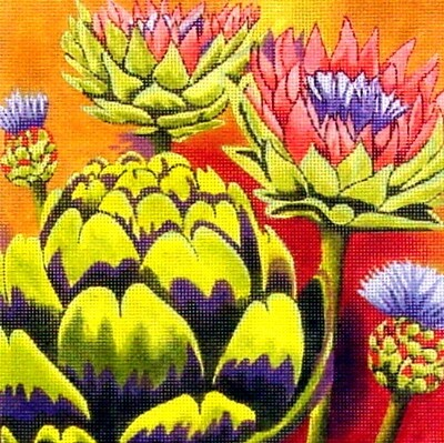 Artichokes       hand painted from PLD Designs