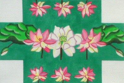 Lotus Pond     (hand painted from PLD Designs)