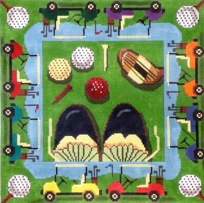 Golf     (hand painted from Gayla Elliott)