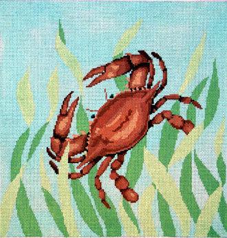 Seaweed Crab      (handpainted by Susan Roberts)