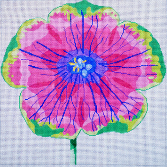 Regal Dazzle Petunia       (handpainted by Jean Smith)