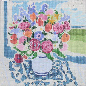 Matisse's Table V   (handpainted from Jean Smith)