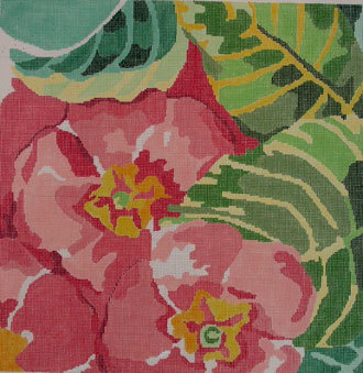Painters Primrose     (handpainted by Jean Smith)