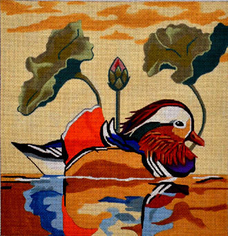 Mandarin Duck (Handpainted by Melissa Prince Designs)
