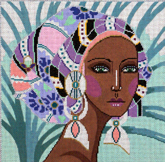 Safara  (Handpainted by Barbara Russell Designs)