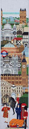 London Wall Hanging