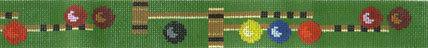 Croquet Belt (Handpainted by Walker Street Designs)