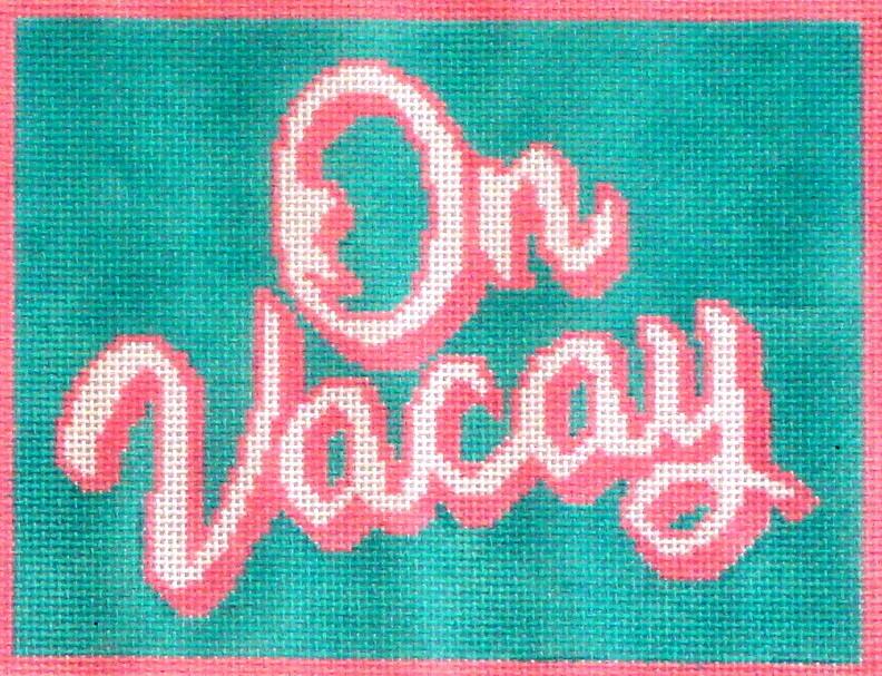 On Vacay    (handpainted from Morgan Julia Designs