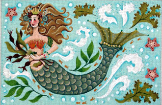 Mermaid     (handpainted by Melissa Shirley)