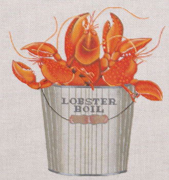 Lobster Boil  (handpainted by Mellisa Shirley Designs)