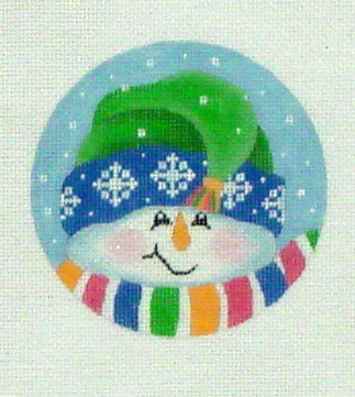 Tassel Snowman (Handpainted by Pepperberry Designs)