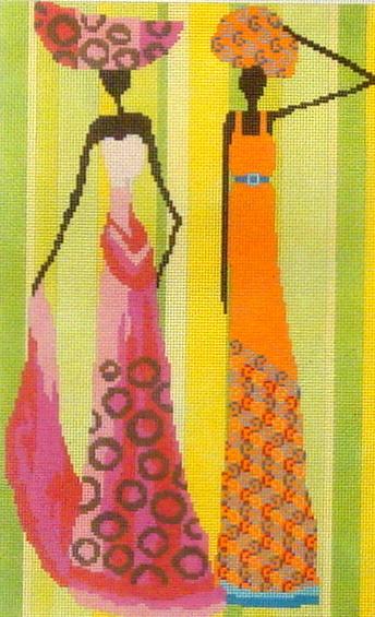 Two Ethnic Women