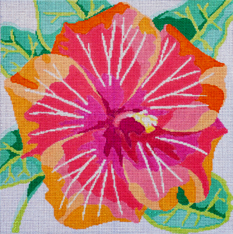 Tropical Hibiscus    (handpainted by Jean Smith)