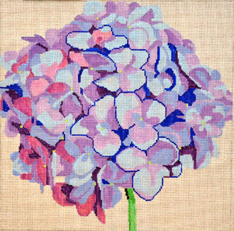 Blue Hydrangea   (handpainted by Jean Smith)