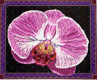 Singapore Orchid    (handpainted from Barbara Russell)