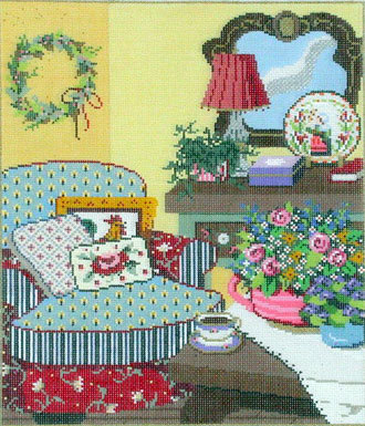 Ma Maison      (handpainted from Sandra Gilmore)