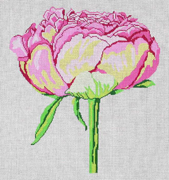 Regal Peony   (handpainted by Jean Smith)