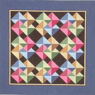 Card Tricks Quilt   (hand painted design by Susan Roberts)