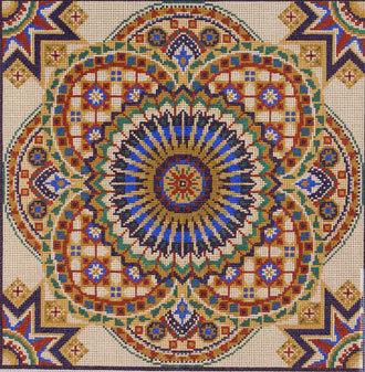 Tile Pattern  (handpainted by Treglown Designs)