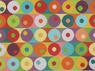Contemporary Circles   (Handpainted by Needledeeva )