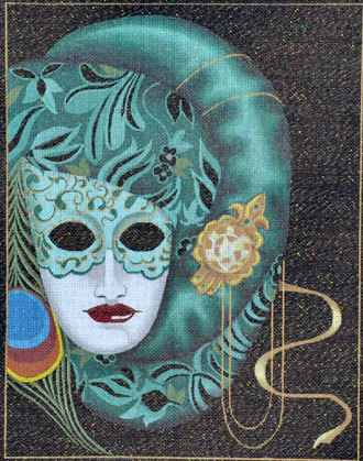 Rosanna Mask   (Handpainted by Leigh Designs)