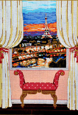 Paris Window     (Sandra Gilmore)