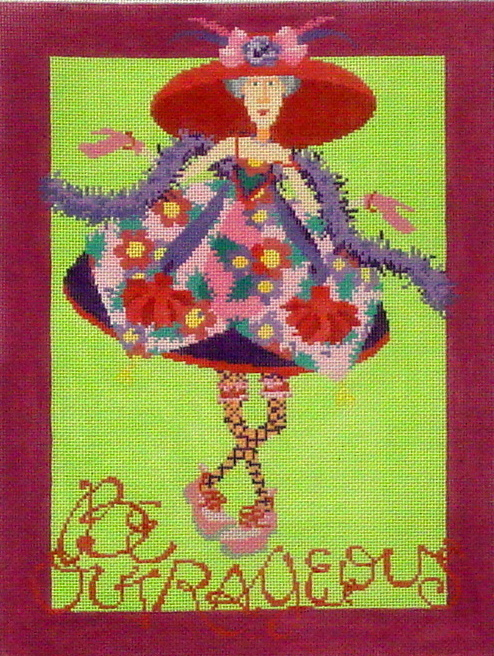 Be Outrageous     (Hand Painted by Ruth Schmuff Designs))