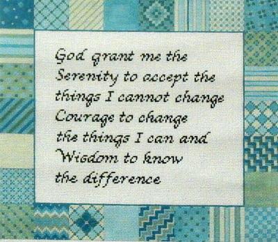 Serenity Prayer   (handpainted by Susan Roberts)`