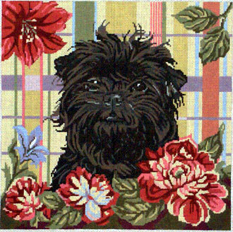 Affenpinscher (Monkey Dog)    (Hand Painted by Barbara Russell)