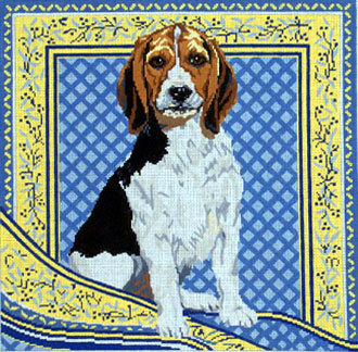 Beagle   (Handpainted by Barbara Russell)