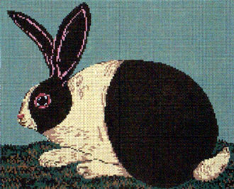 Cozy Bunny (Handpainted by Cooper Oaks Design)