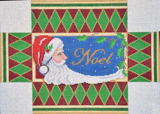 Noel Santa Brick Cover    (handpainted from Susan Roberts)