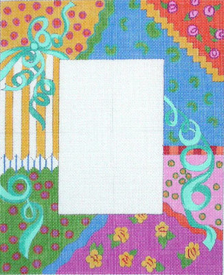 Ribbon Collage Picture Frame