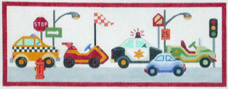 Cars for Boys  (hand painted by Alice Peterson)