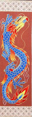 Dragon w/Border (Handpainted from Sophia Designs)