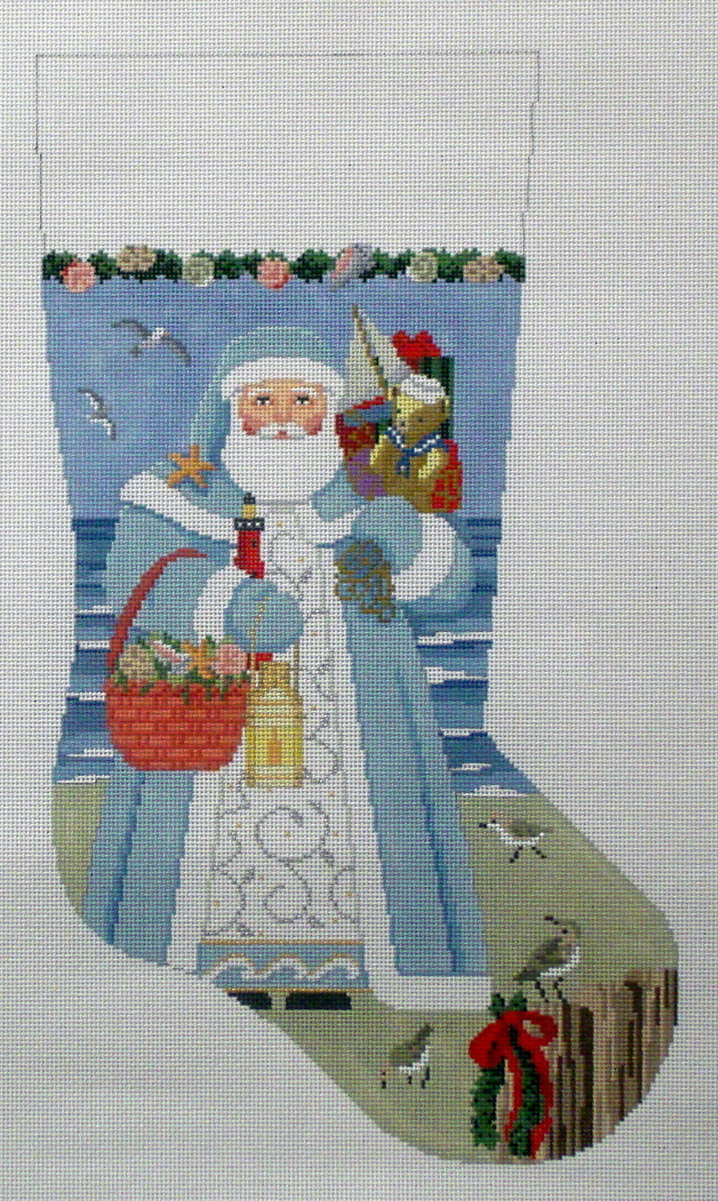 Nautical Santa   (handpainted from Susan Roberts)