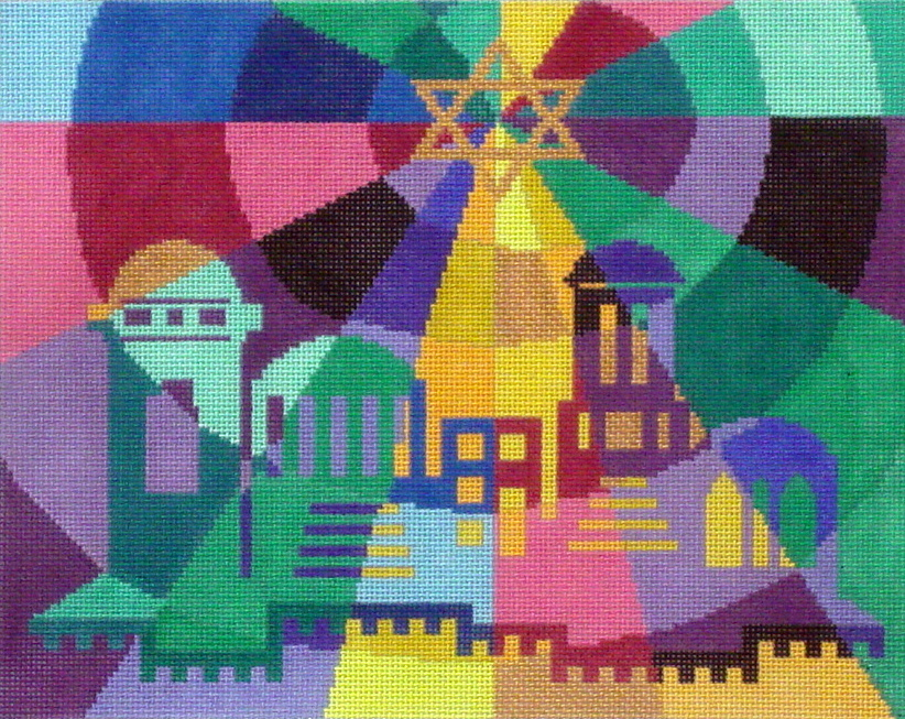 Prism City    (Handpainted by Fleur de Paris)