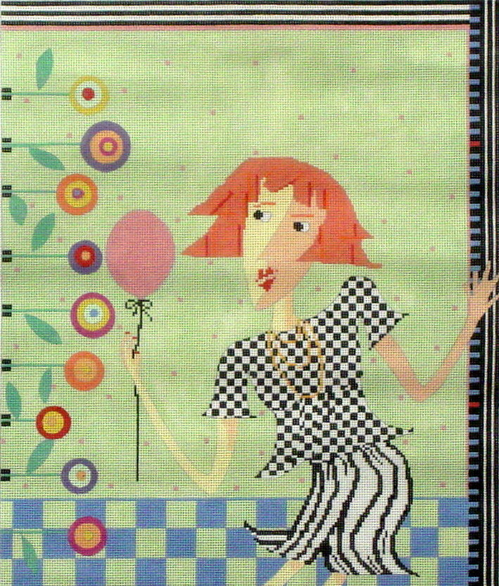 Party Girl   (hand painted by Penny McLeod)